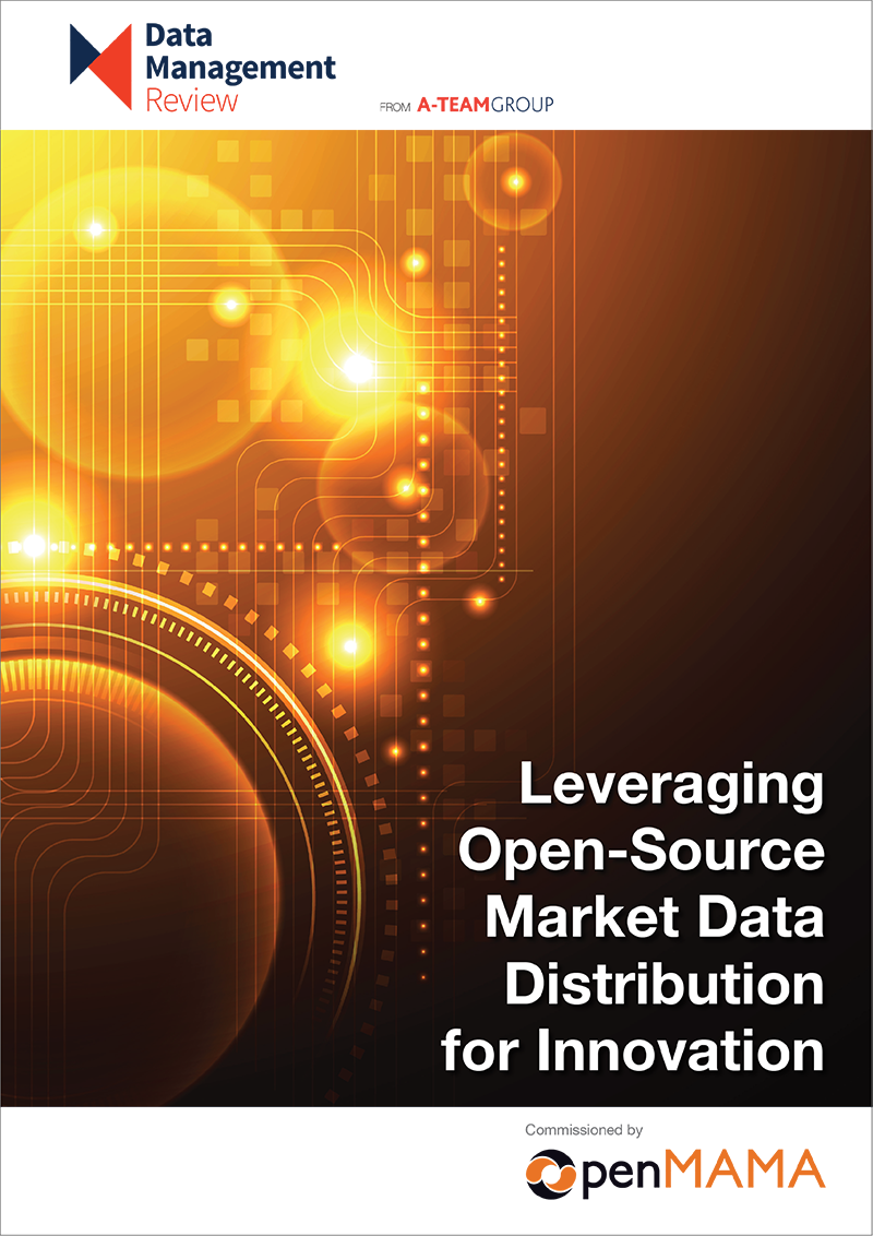 Open source market data distribution for innovation