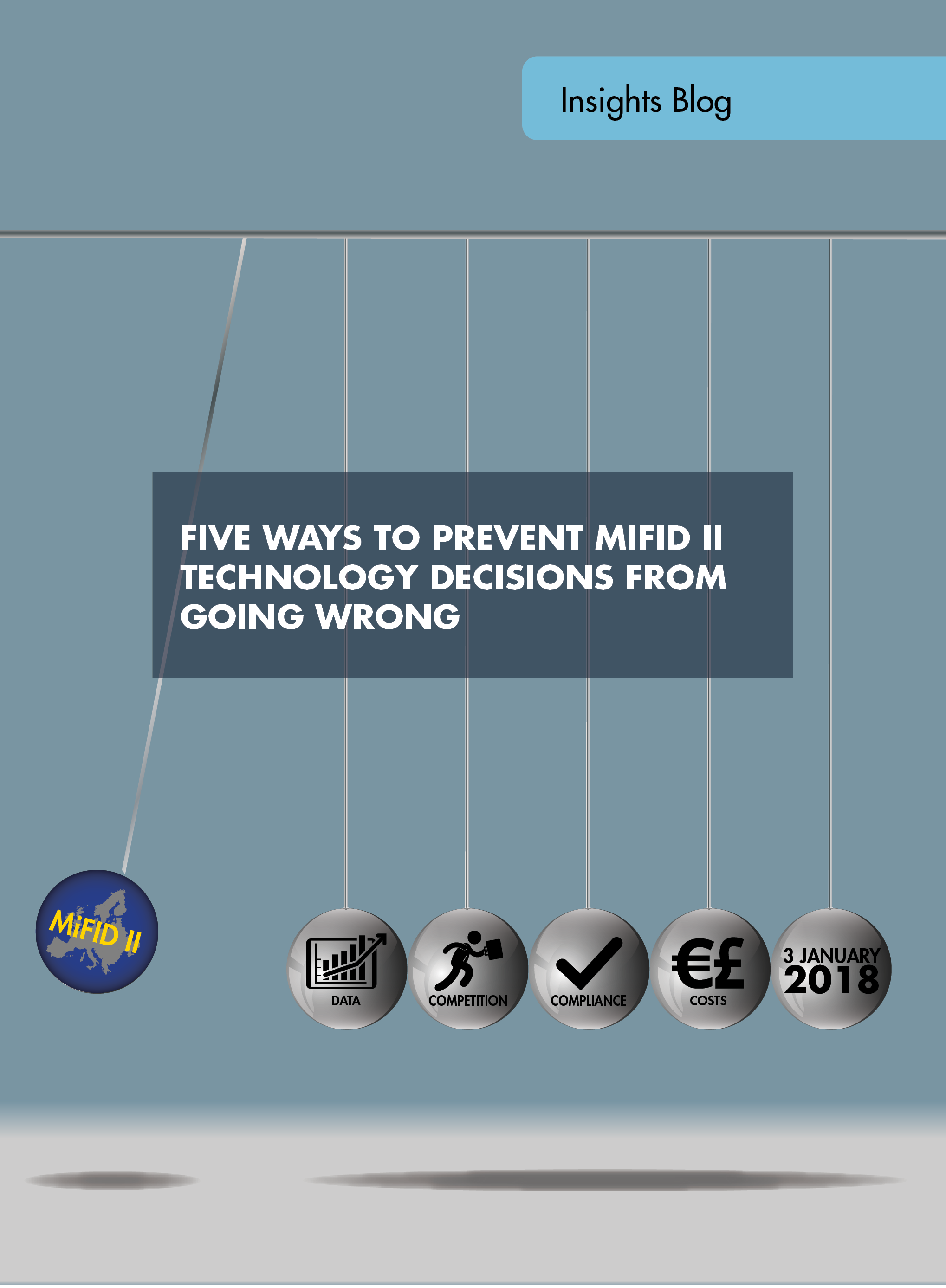 Five ways to prevent MiFID II technology decisions from going wrong