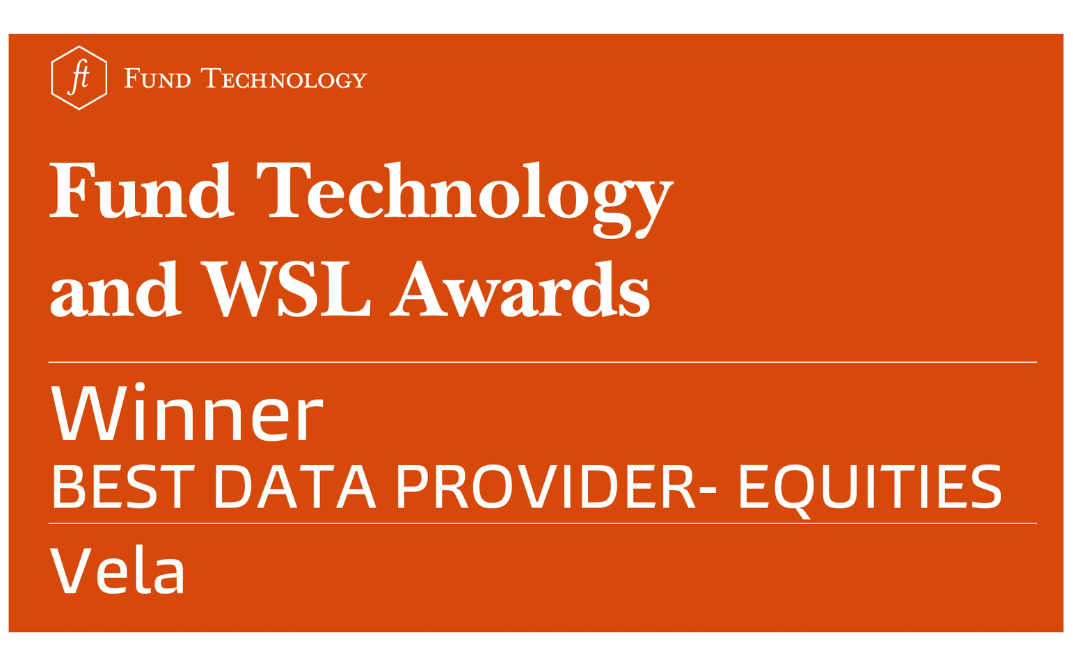 Best Data Provider – Equities