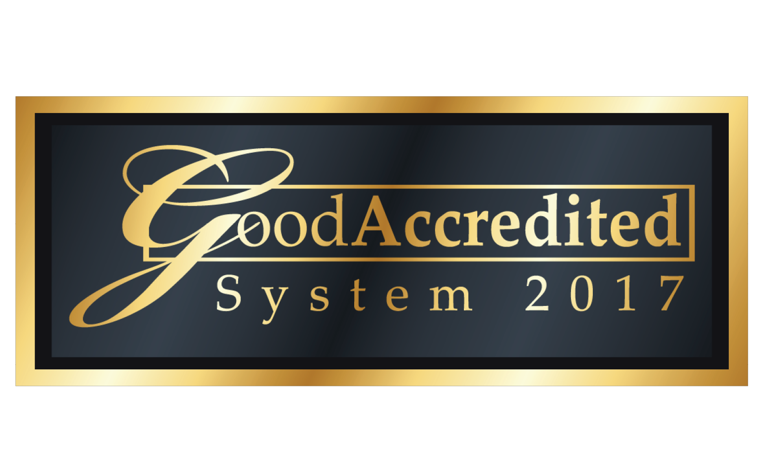 GoodAccreditation 2017