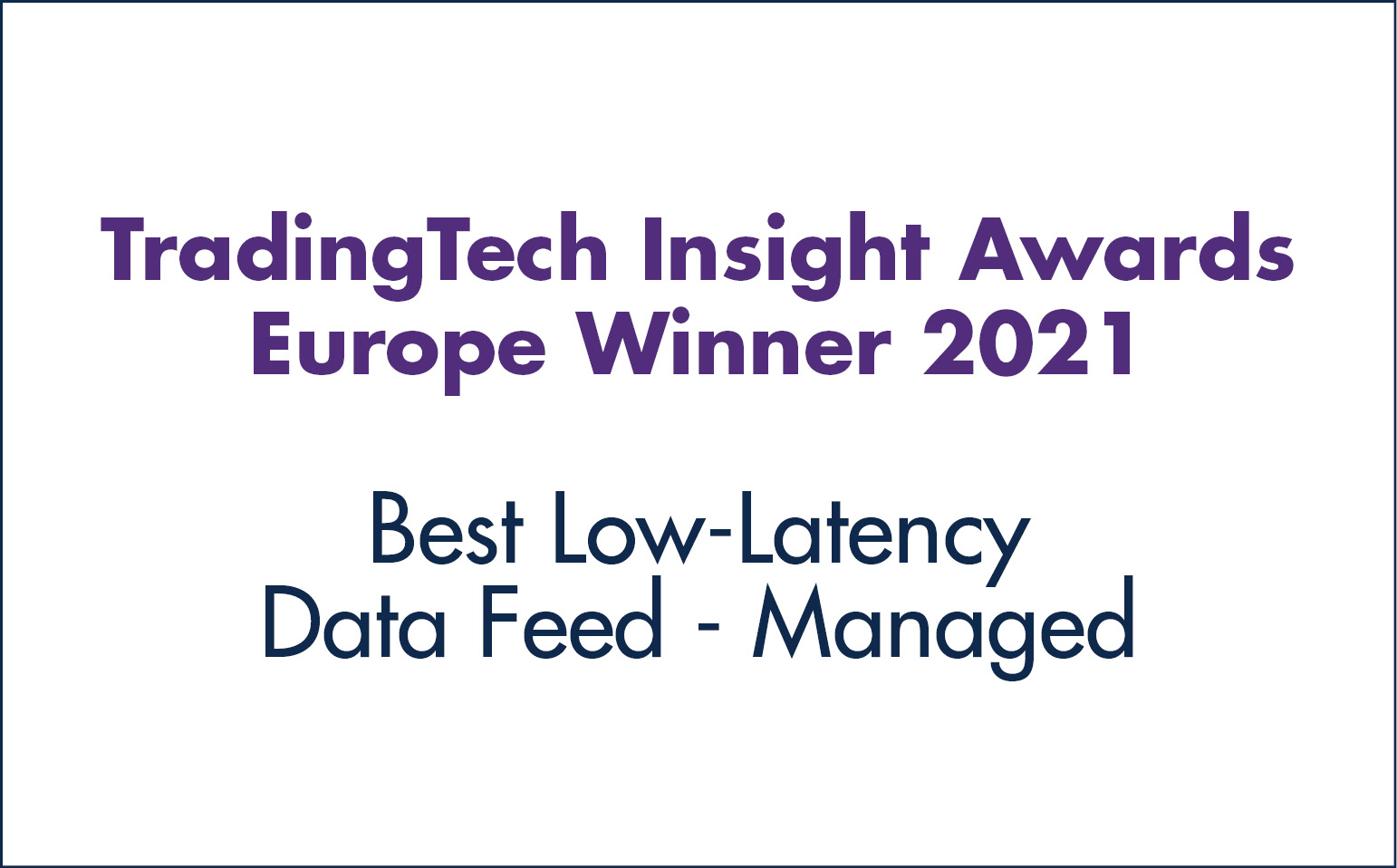 Best Low-Latency Data Feed - Managed