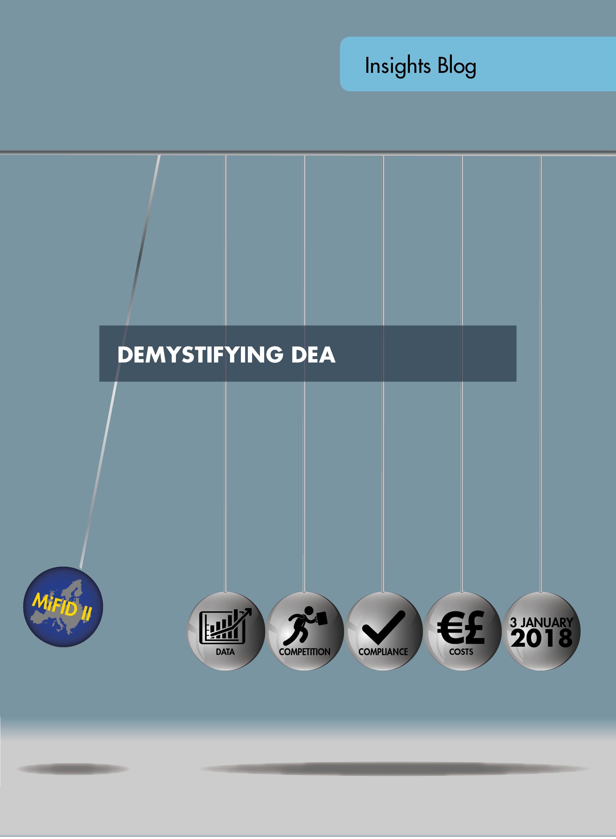 Demystifying DEA
