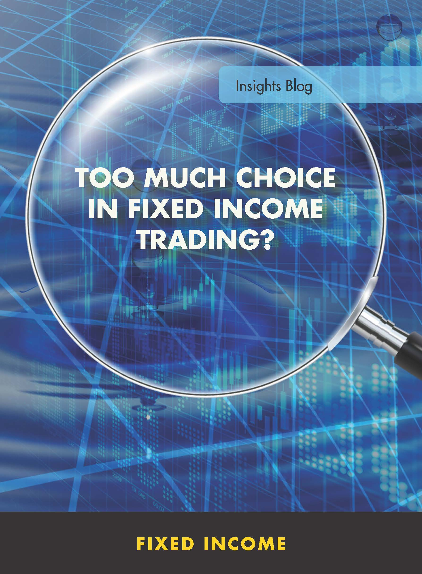 Too Much Choice in Fixed Income Trading?