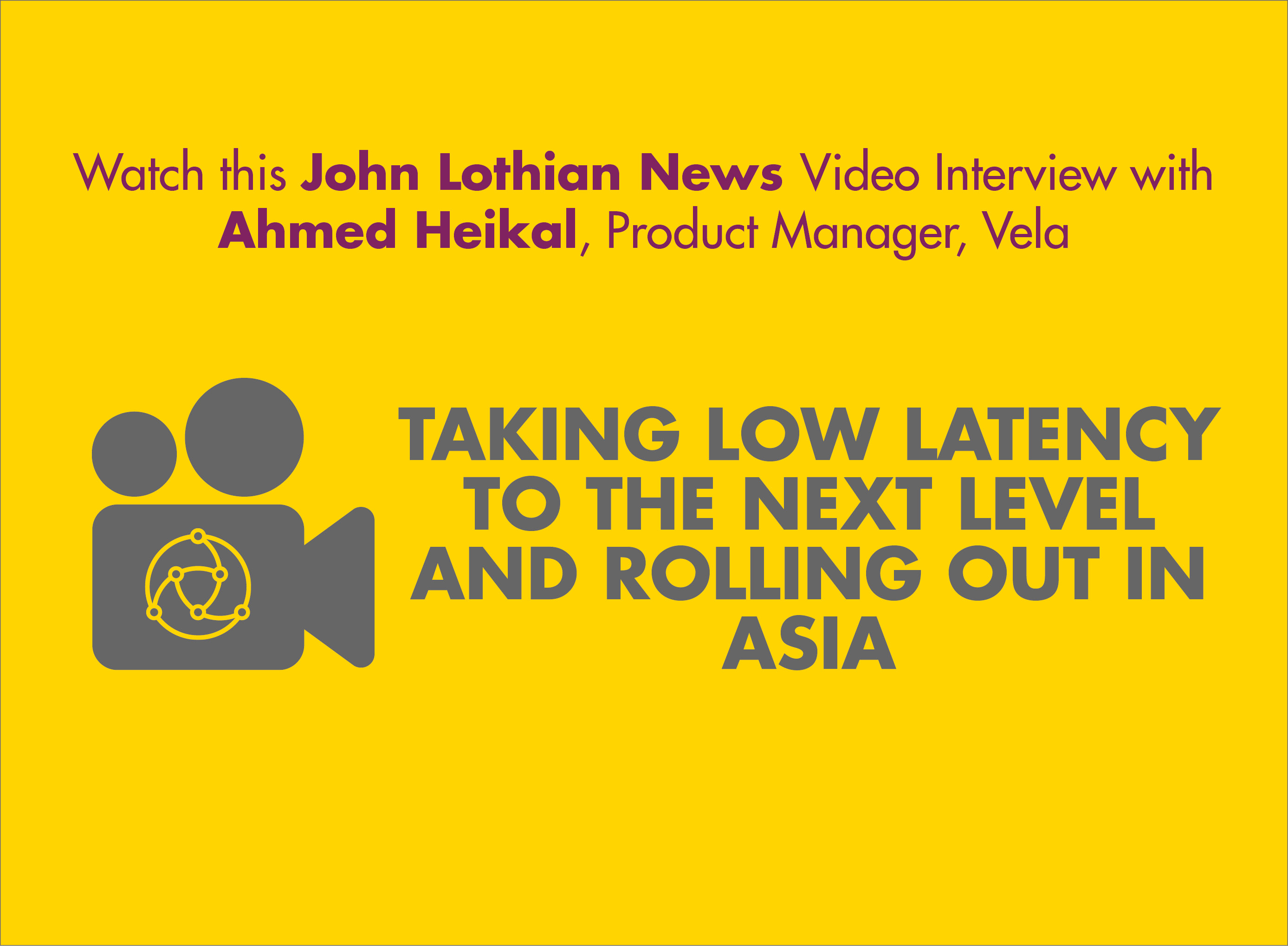 John Lothian News Video Interview with Ahmed Heikal