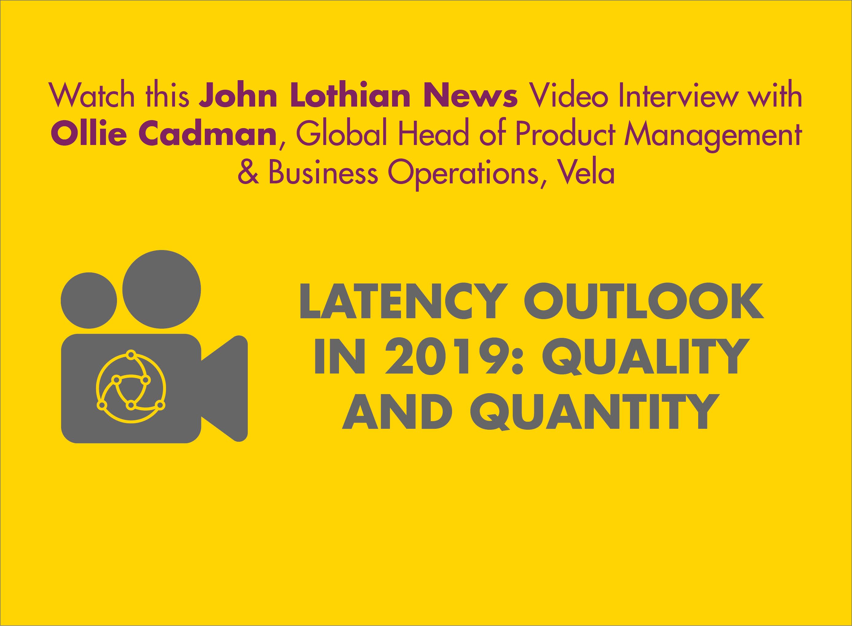 John Lothian News Video Interview with Ollie Cadman