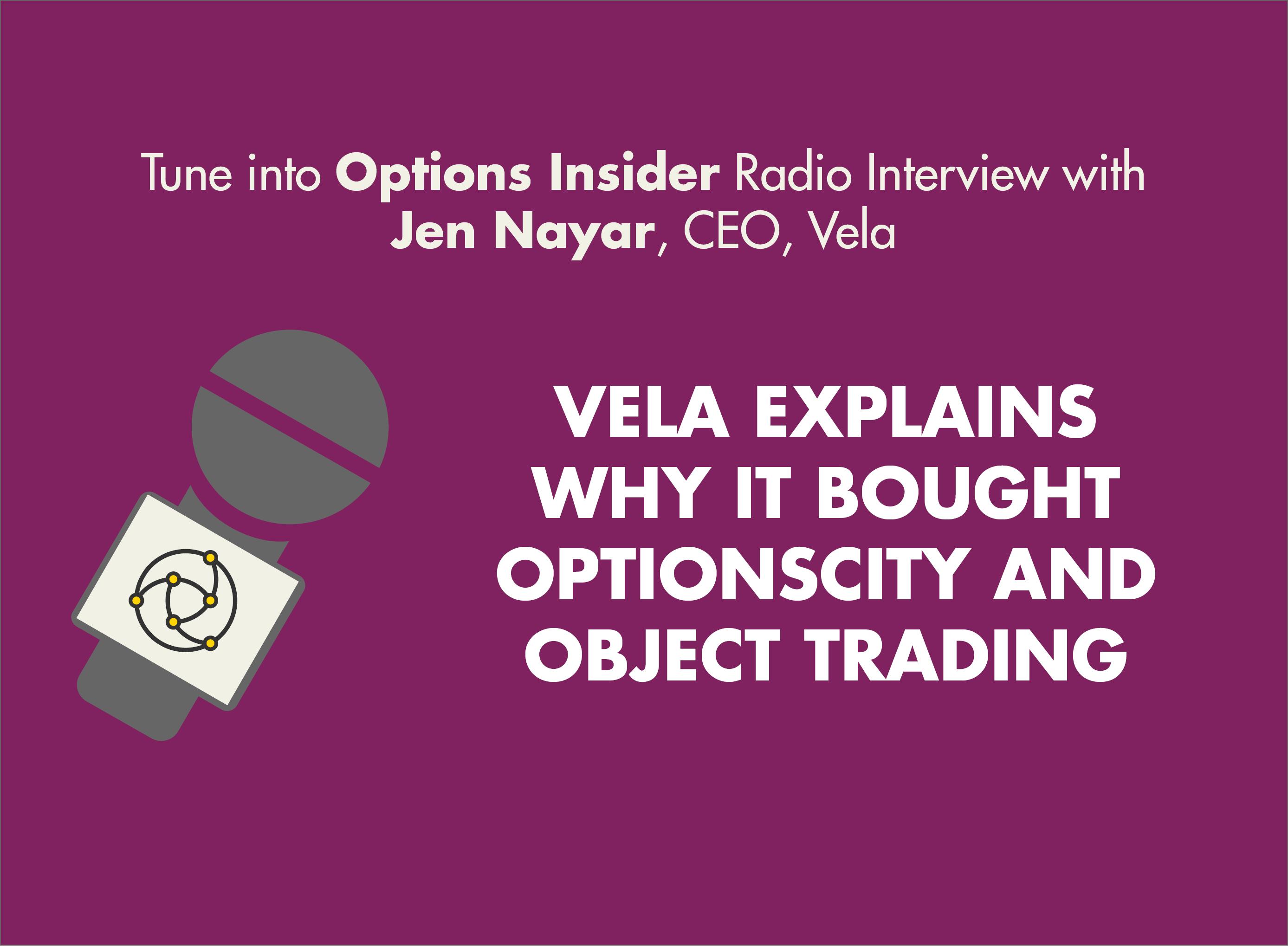 Options Insider Radio Interview with Jen Nayar