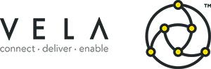 Vela logo tagline